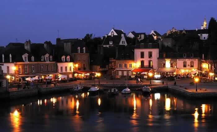 Patrimoine de Bretagne et artiste à Saint Goustan, petit port d'Auray