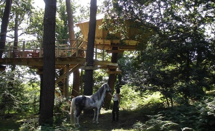Cabane Baman : Nuit insolite en cabane en Morbihanpour2 à 5 personnes, idéale en couple ou famille