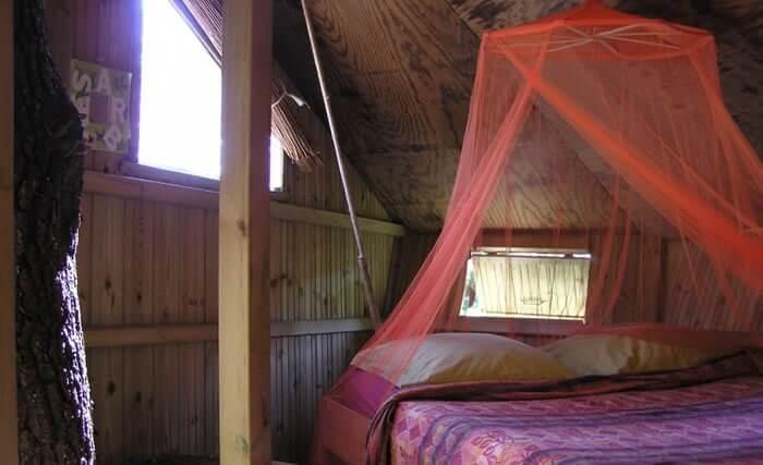 Cabane perchée Bretagne