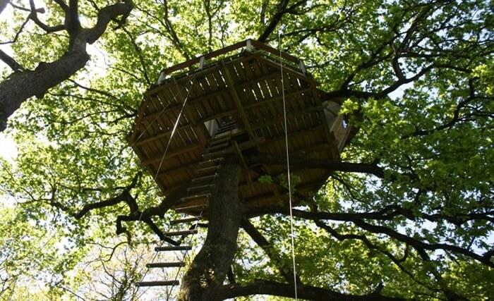 cabane dans les arbres nijal bretagne ecolodge dihan. Black Bedroom Furniture Sets. Home Design Ideas