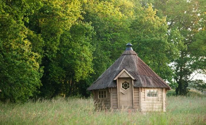 Chambre d'hôte dans un chalet en bois en Bretagne, à côté de Carnac, à Dihan