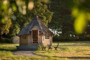 Chalet de Laponie, hébergement insolite en Bretagne