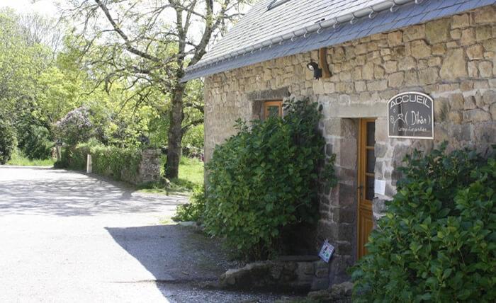 Bihan, votre chambre d'hôtes en Morbihan, se trouve dans l'ancienne étable du corps de ferme.