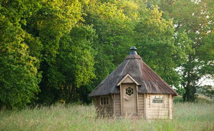 Une chambre d'hôte insolite en pleine nature et tout en bois à Dihan entre Carnac et Quiberon