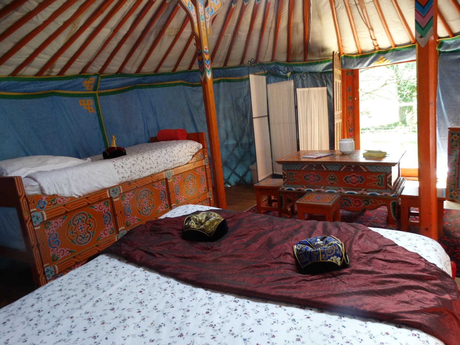 Dormir dans une yourte en bretagne