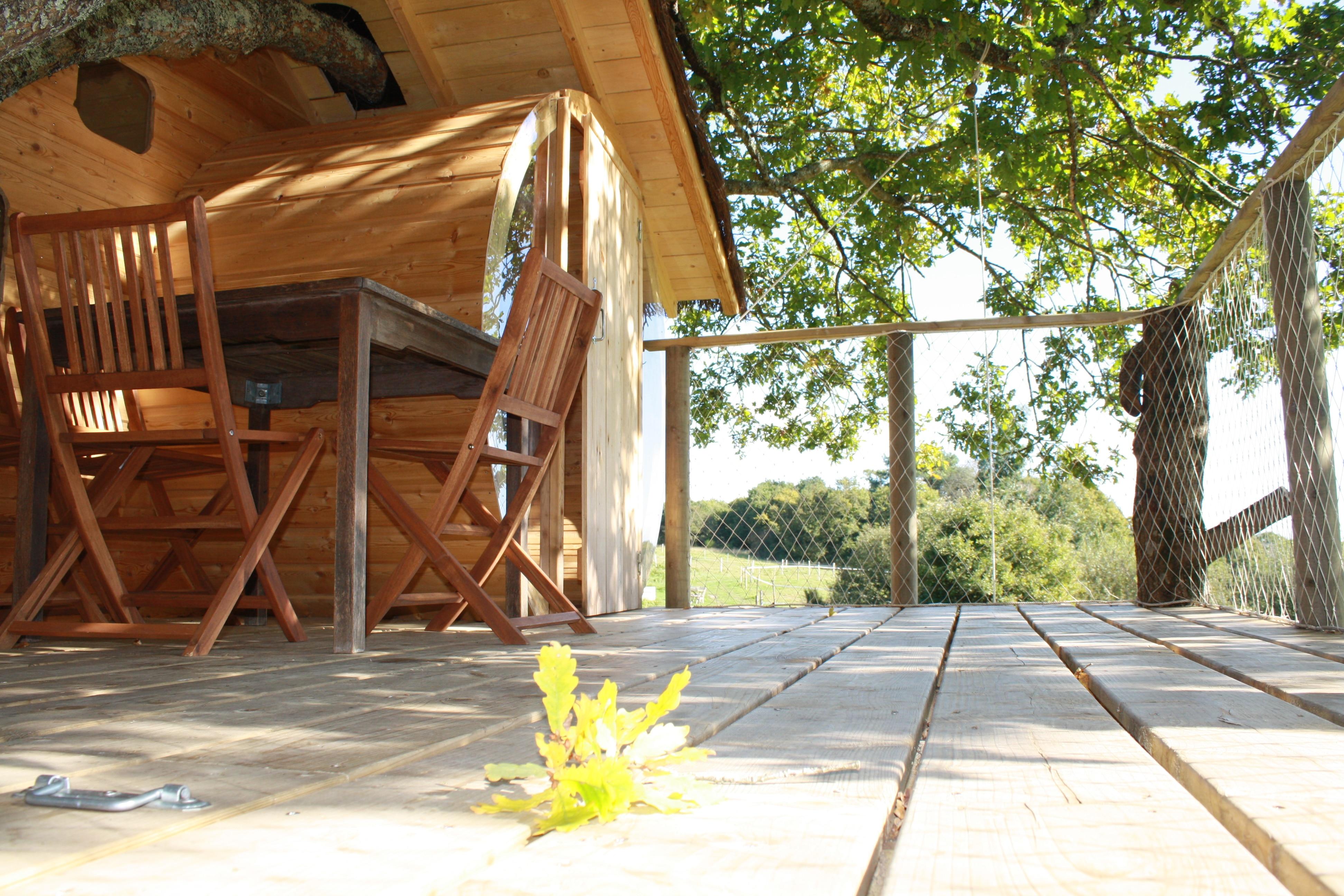 exterieur cabanes Morbihan