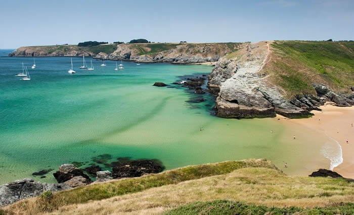 Tourism in Brittany : discovering Belle île