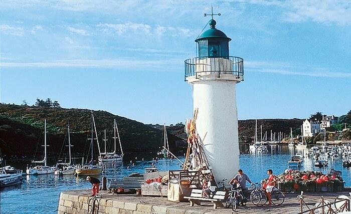 Arrivée à Belle île en Morbihan