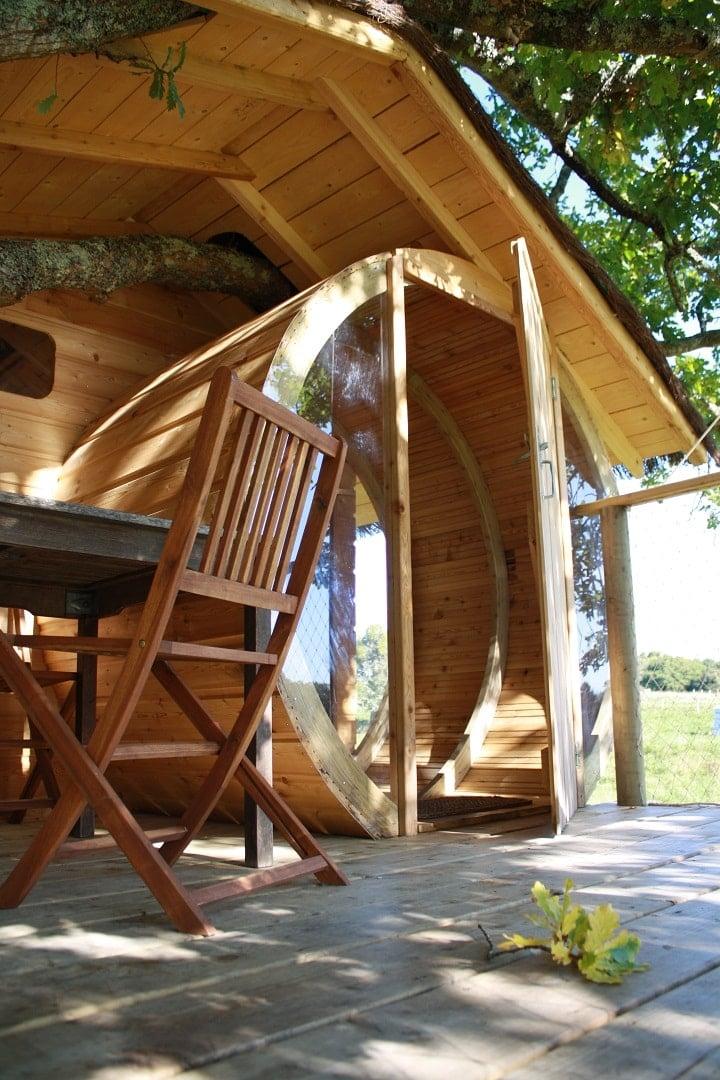 cabane arbre carnac sterenn 3 cabanes dans les arbres. Black Bedroom Furniture Sets. Home Design Ideas