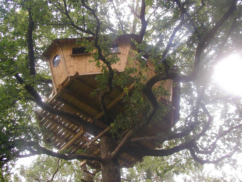 Dormir dans les arbres Nijal Bretagne