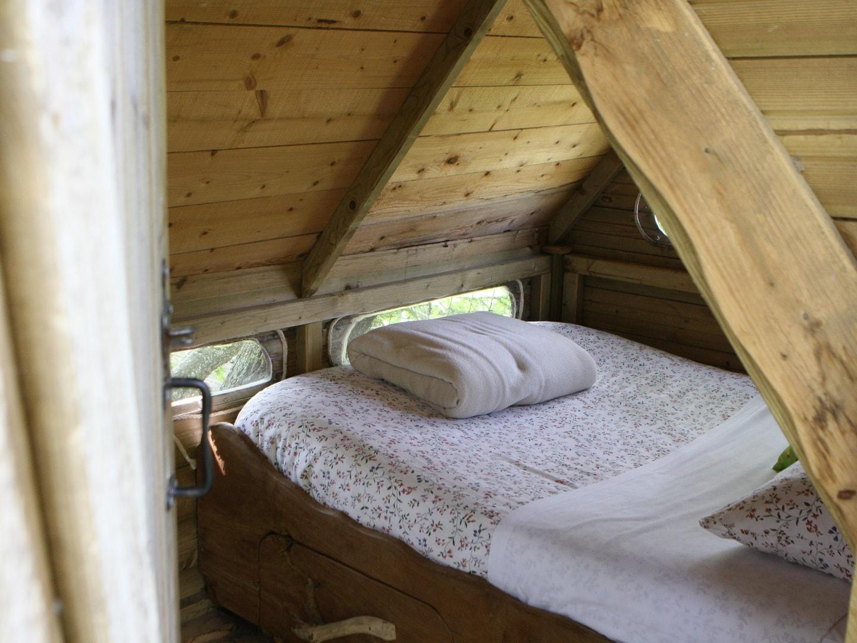 Cabane perchée Bretagne - Heol
