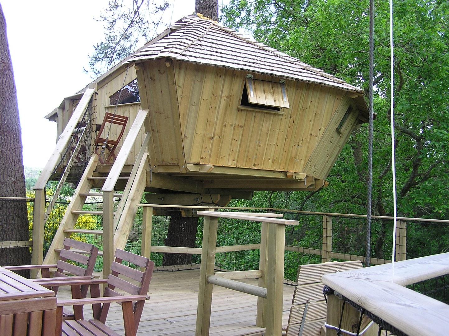 cabane dans les arbres baman week end perch dihan morbihan. Black Bedroom Furniture Sets. Home Design Ideas