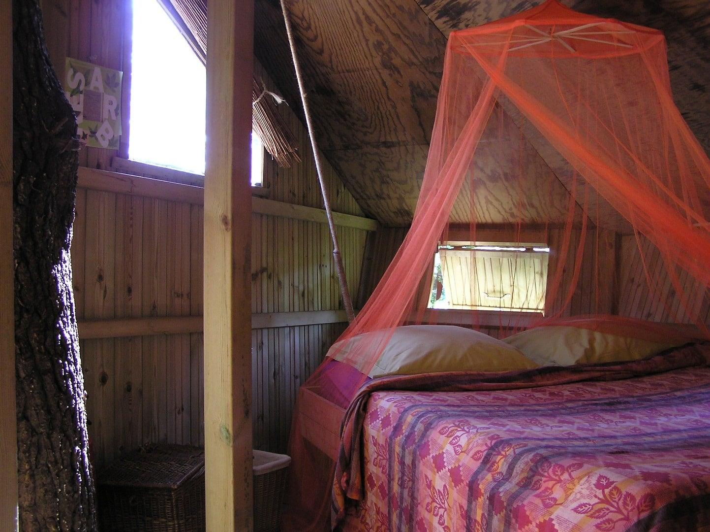 Cabane insolite baman intérieur