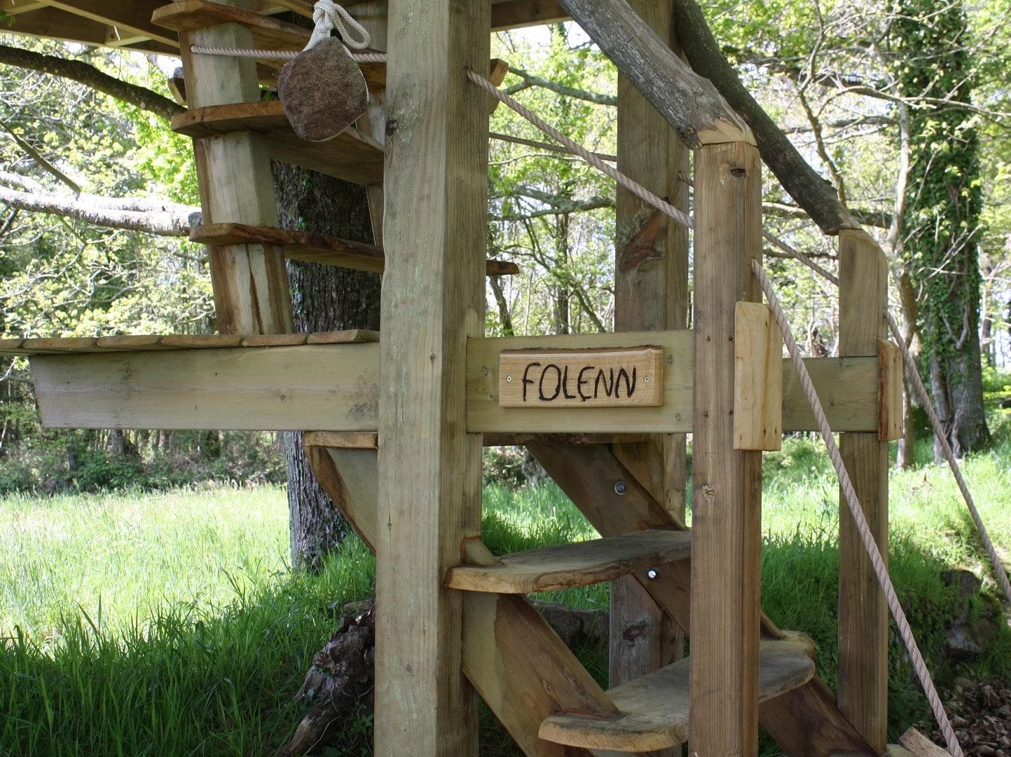 cabane perchée bretagne - Folenn