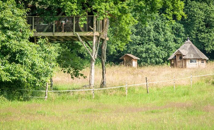 Cabane dans les arbres neh er lenn bretagne dormir for Acheter cabane dans les arbres
