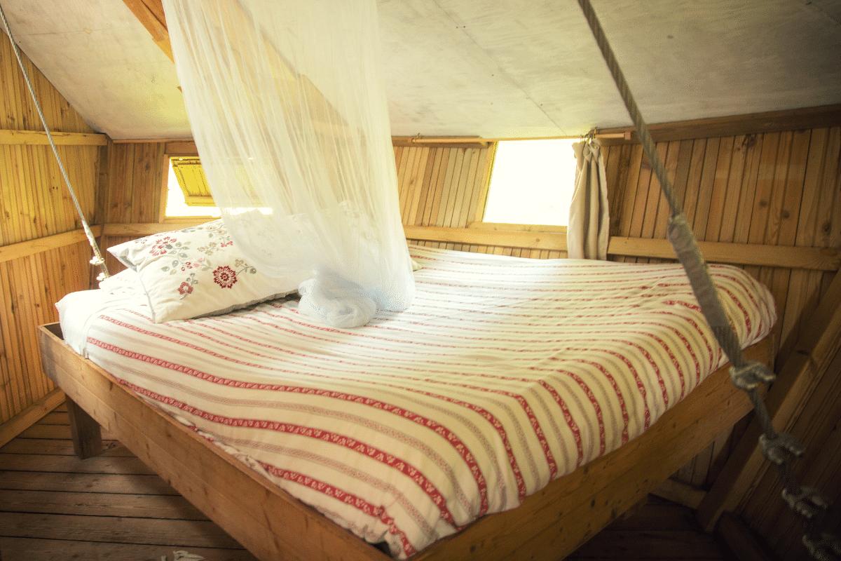 Dormir dans une cabane perchée en Bretagne - Baman