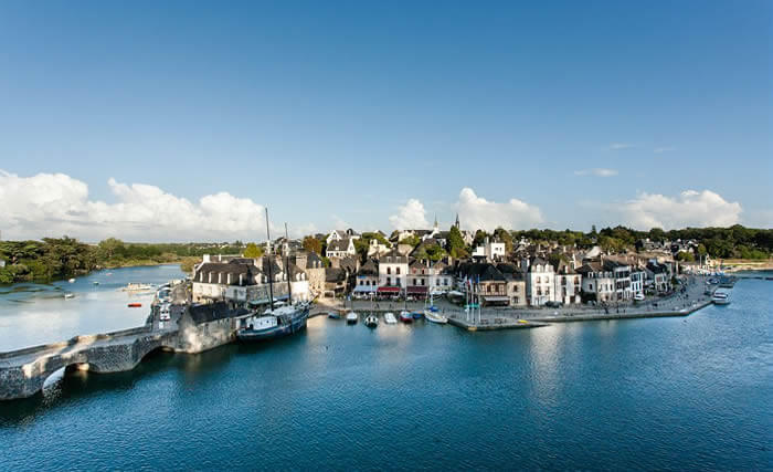 Saint Goustan , port d'Auray, quartier d'artiste