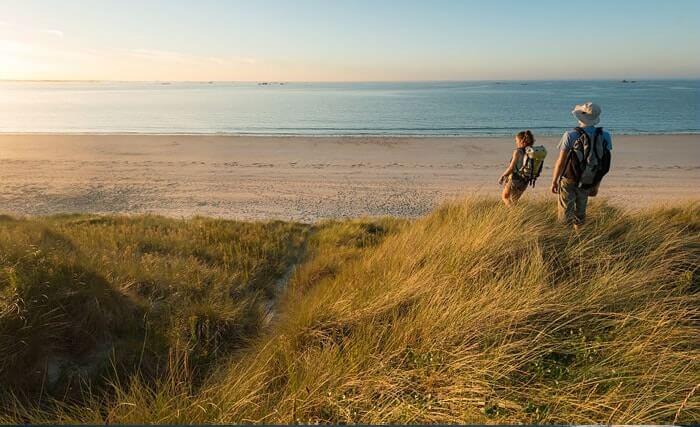 Des sentiers de randonnées pédestres en Bretagne Sud