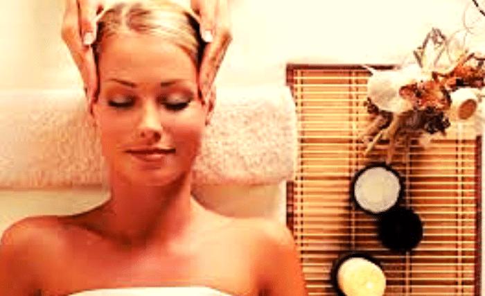 Massage antistress du visage