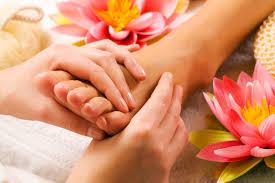 Massage pieds/mains/dos