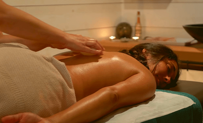 soin polynésien aux coquillages chaud spa proche carnac