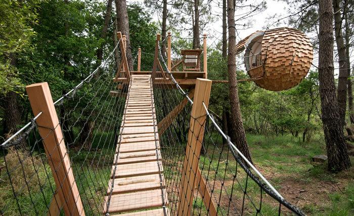 lov nid nid perch dans les arbres nid suspendu. Black Bedroom Furniture Sets. Home Design Ideas