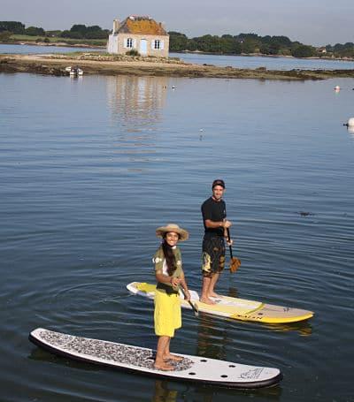 Balade en paddle sur la Ria d'Etel