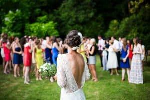 Wedding pique nique dans un parc