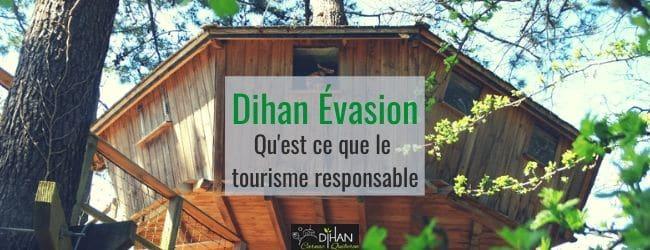 Qu'est ce que le tourisme responsable