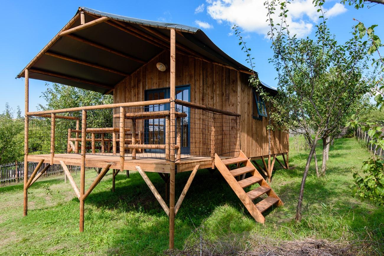 Lodge - camping ecolodge morbihan